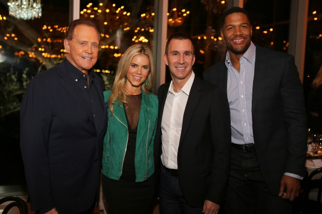 Lee & Faith Majors, Harvey Spevak, Michael Strahan